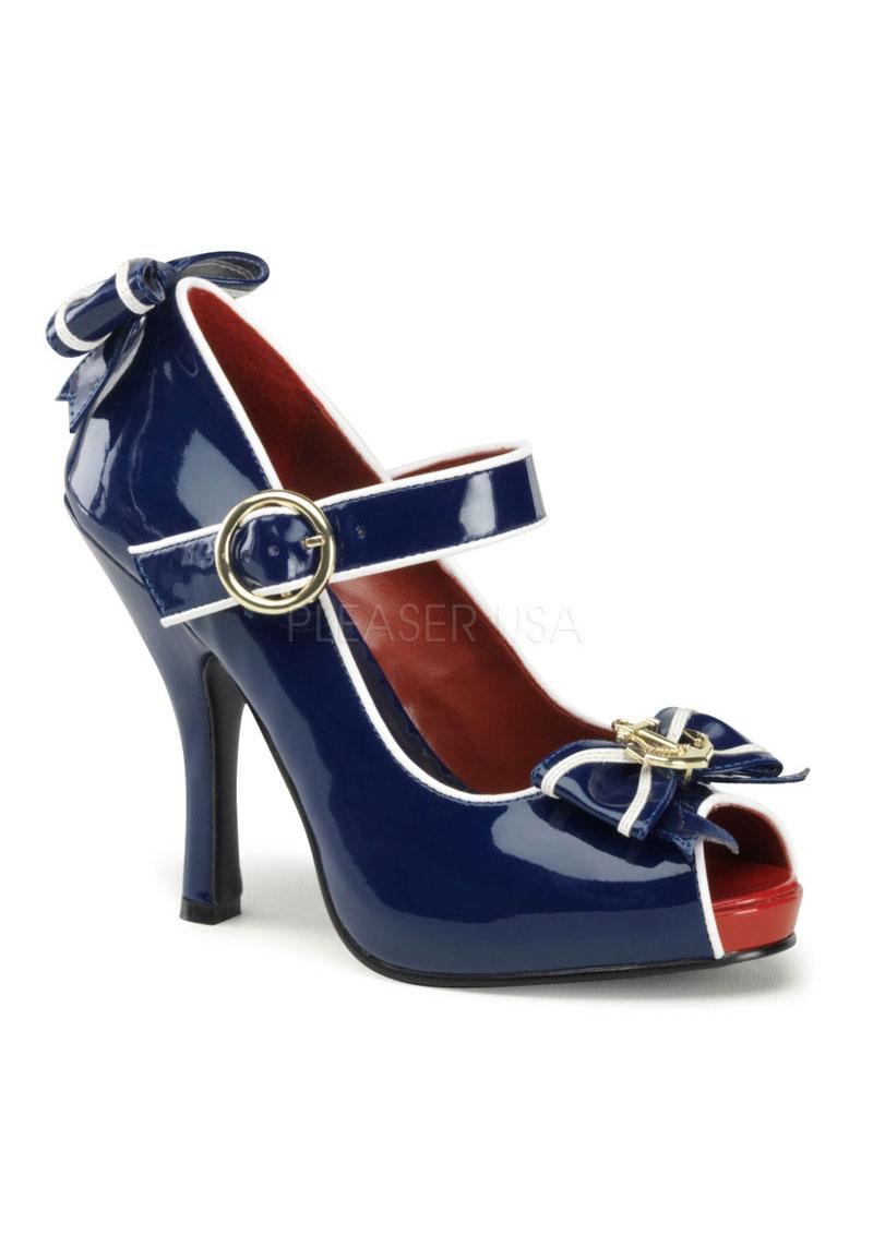 Funtasma ANCHOR-22, 4 1/2 Inch Heel Open Toe Mary Jane   eBay