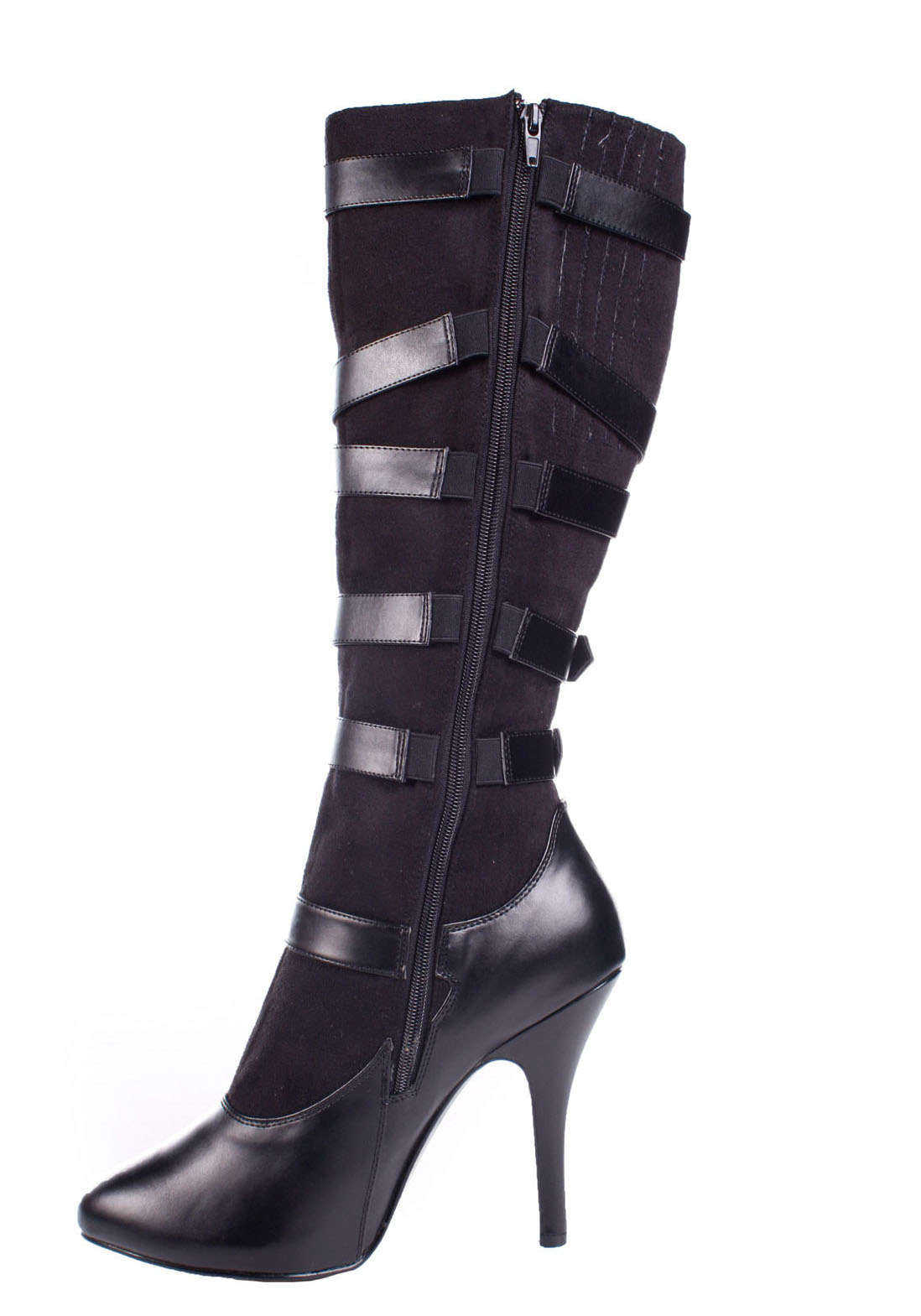 pleaser arena 2030 s 4 1 2 inch heel knee boots ebay