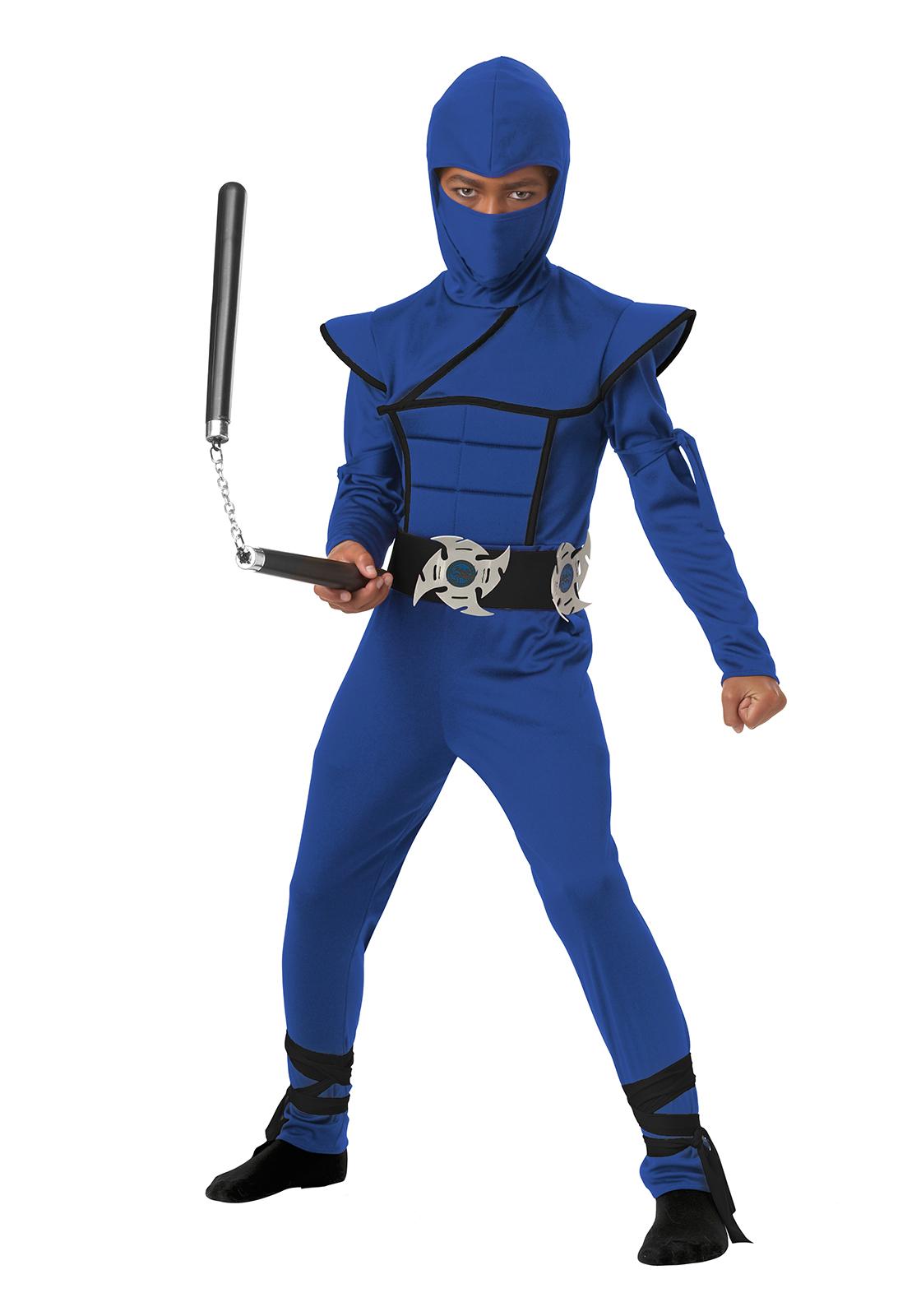 California Costumes 00505 Stealth Ninja/Child