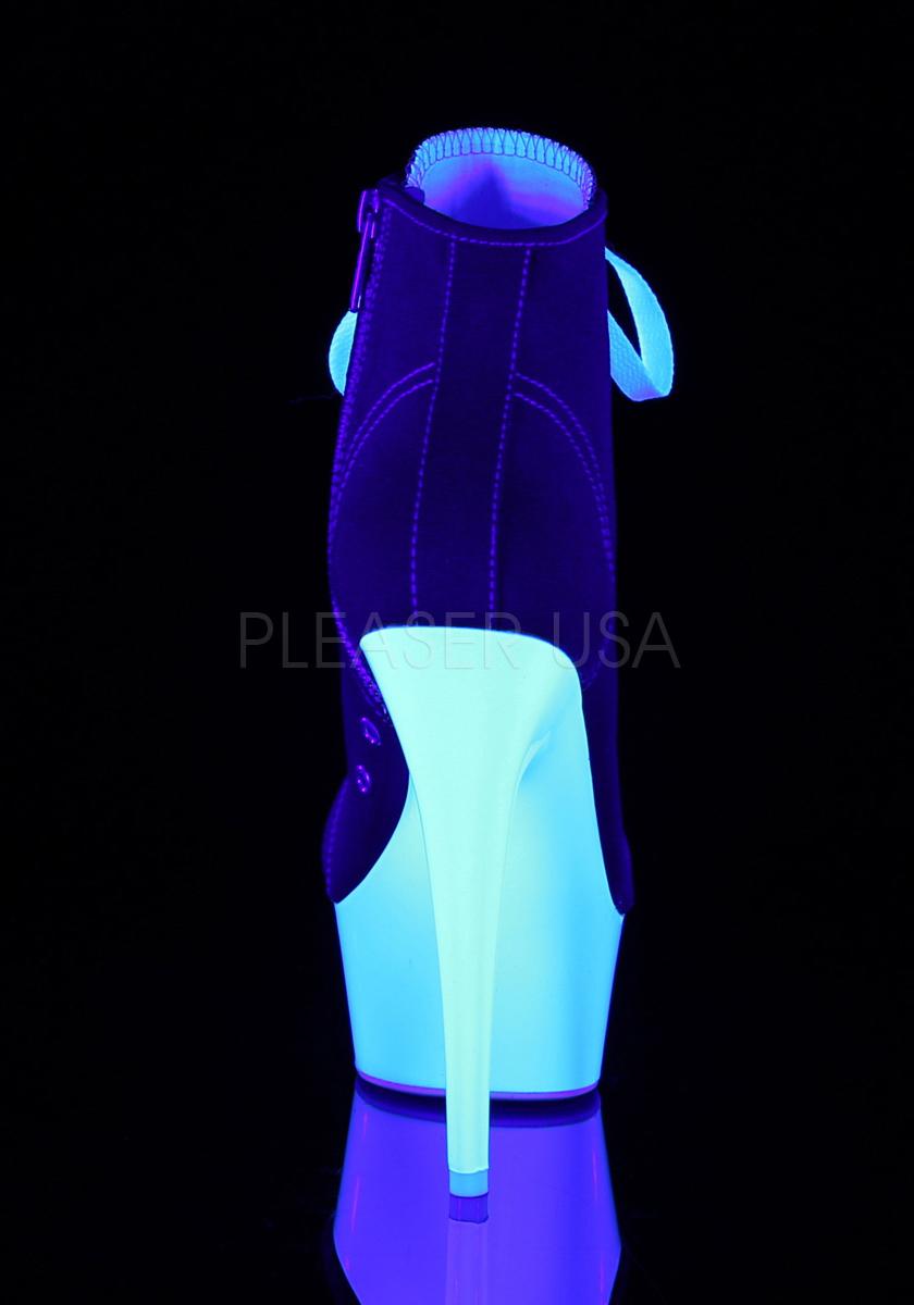 Pleaser DELIGHT-600SK-02 3/4 6 Inch Heel, 1 3/4 DELIGHT-600SK-02 Inch Platform Sneaker, Side Zip 431fd2