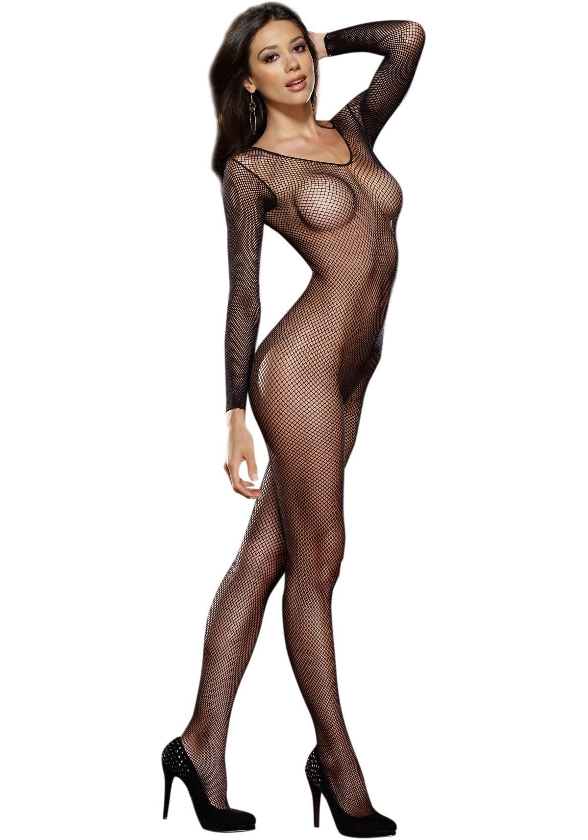 4025d1637c7 Dreamgirl-0015-Amsterdam-Fishnet-Long-Sleeved-Open-Crotch-