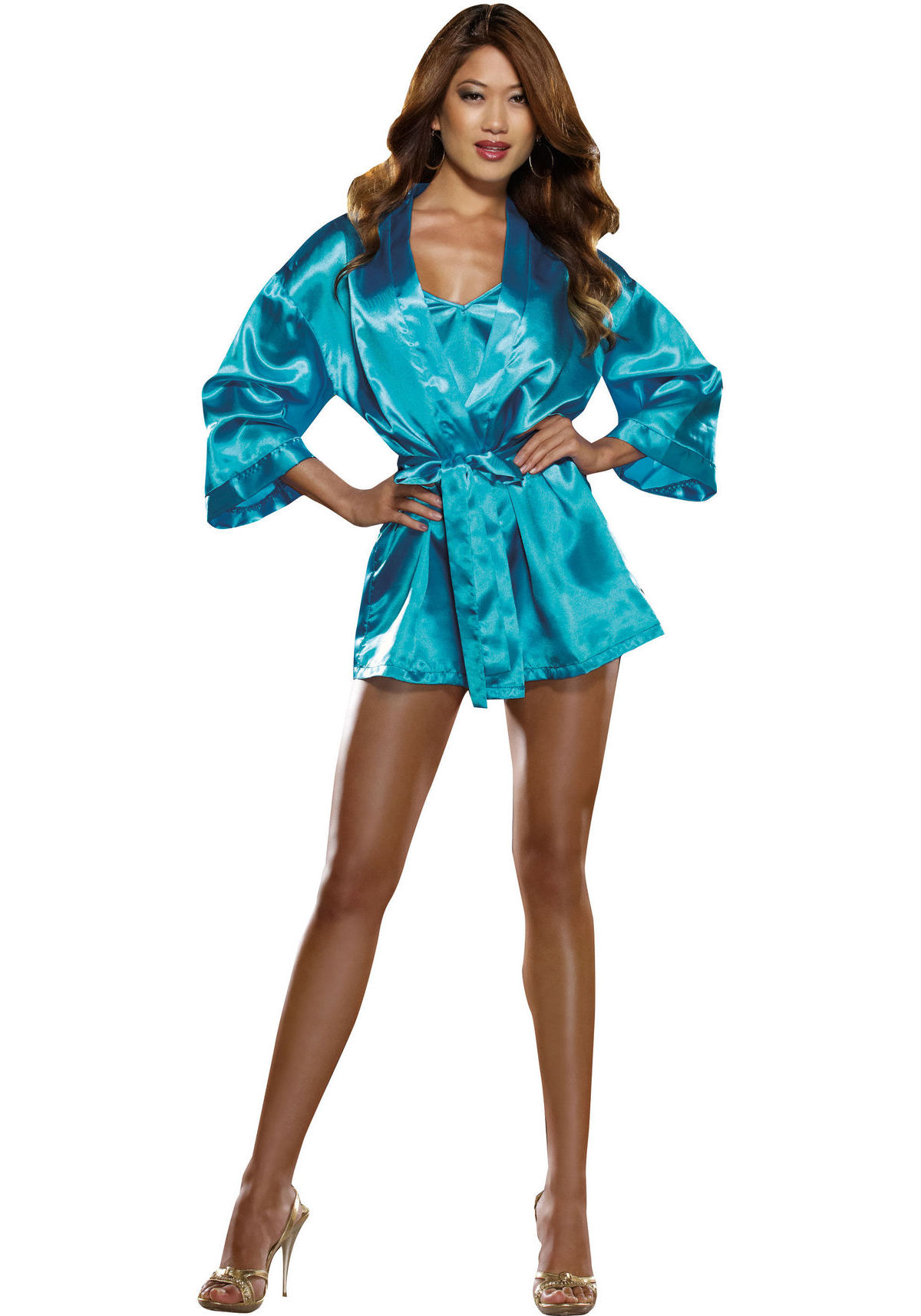 Babydoll with robe set