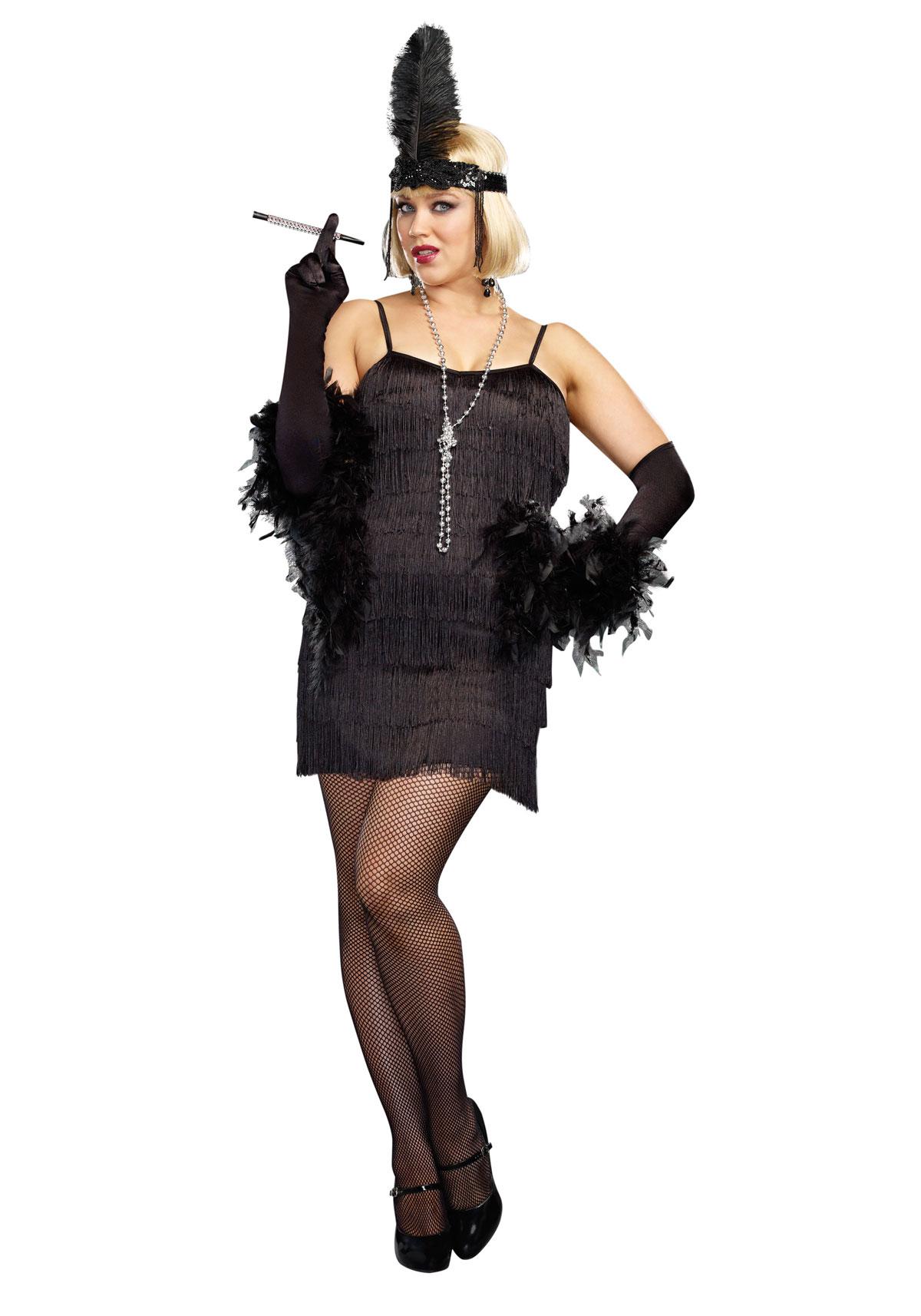 Dreamgirl 8912x Plus Size Basic Flapper Dress Costume Ebay  sc 1 st  Meningrey & Dreamgirl Plus Size Costumes - Meningrey