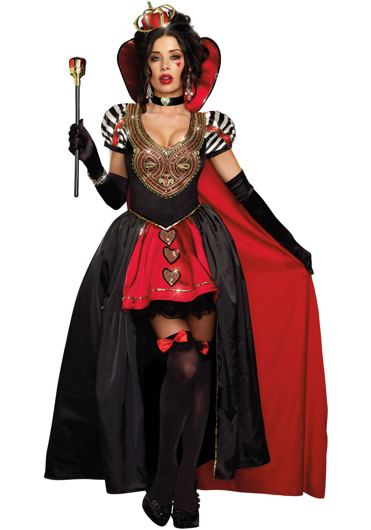 Dreamgirl 9908 Victorian Queen Of Hearts Costume | eBay