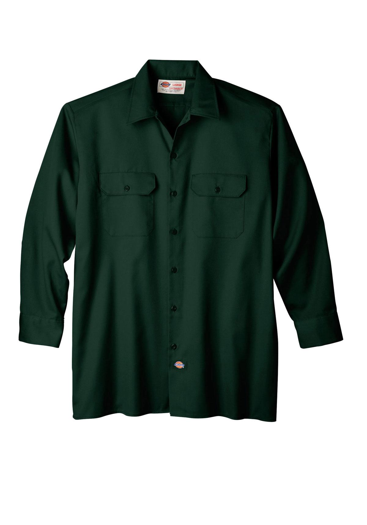 Dickies 574 Long Sleeve Work Shirt Ebay