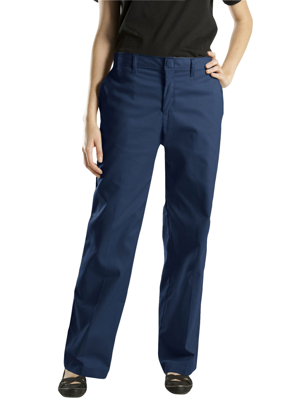 Beautiful Dickies FPW537NV Women39s Industrial Cargo Pant Dark Navy18W X 37L