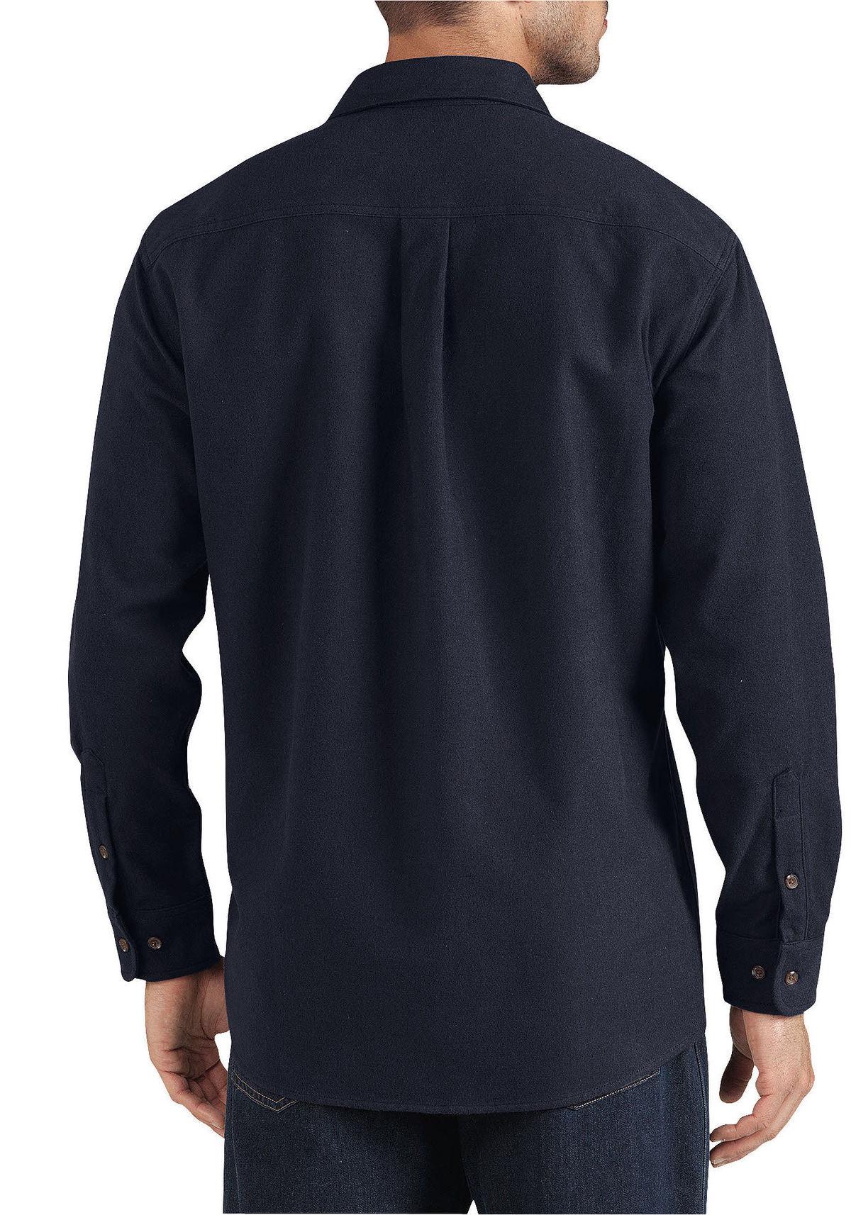 Dickies WL633 Long Sleeve Chamois Shirt | eBay