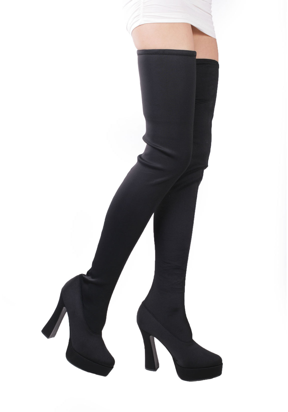 platform thigh high boots for sale classifieds