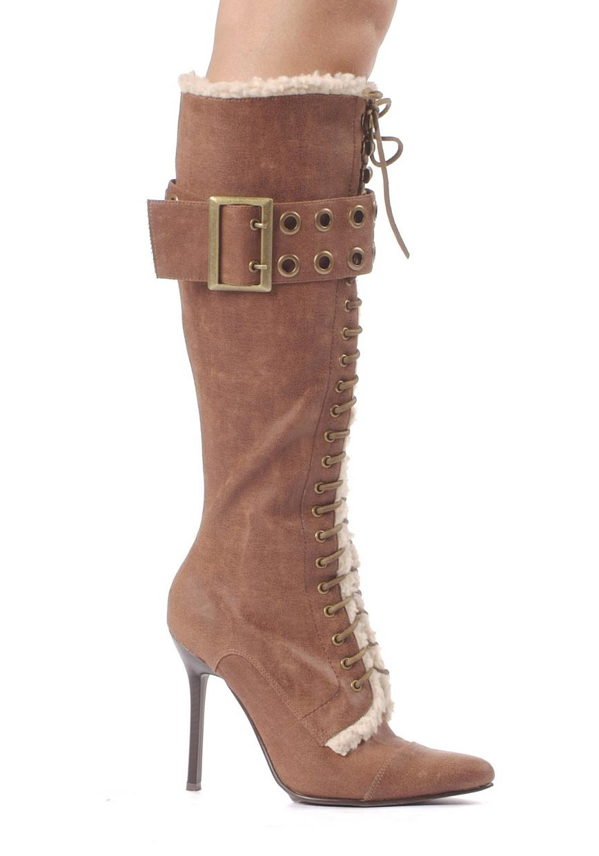 s shoes 4 inch heel knee high boot with buckle ebay