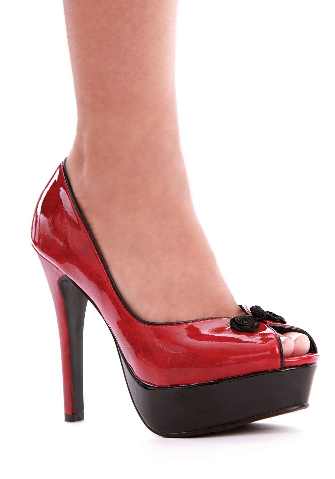 ellie shoes 523 greta greta 6 peeptoe with 2 inch