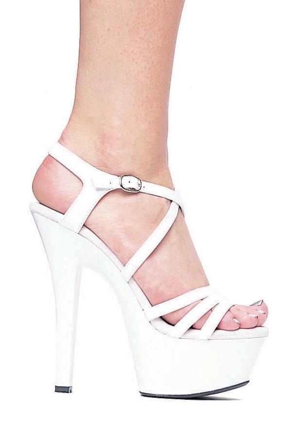 Ellie Shoes 6 Inch Heel Strappy Sandal Women's Size Shoe ...