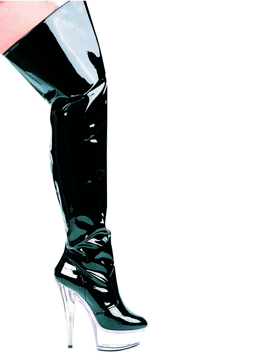 s 6 inch heel pointed stiletto thigh high boots ebay
