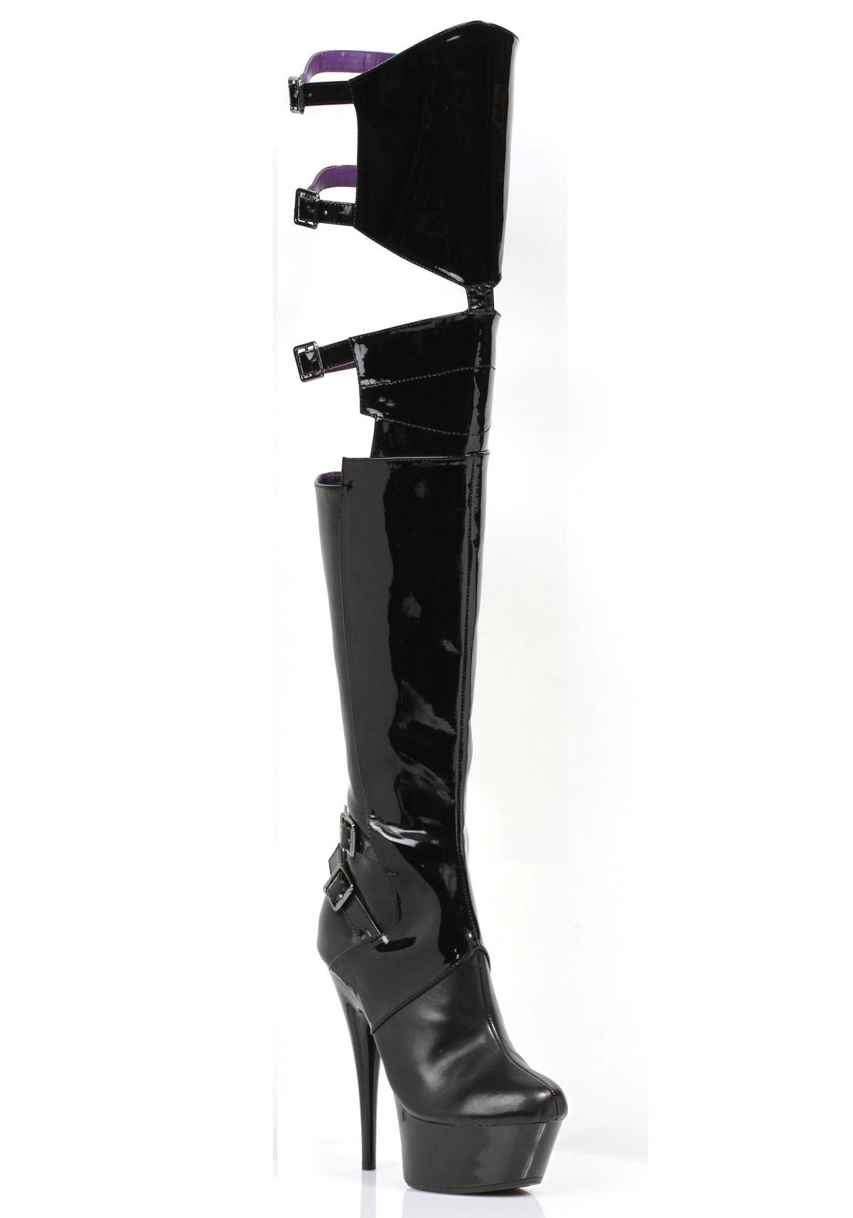 ellie shoes 609 felicia 6 inch pointed stiletto heel thigh