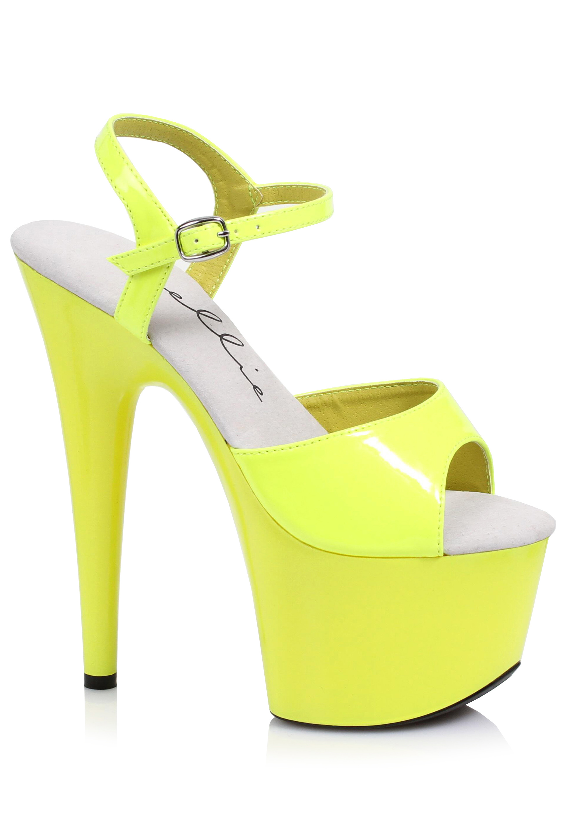 3417b069d3d5 Ellie Shoes 709-SOLARIS 7 Inch Neon Stiletto Sandal.