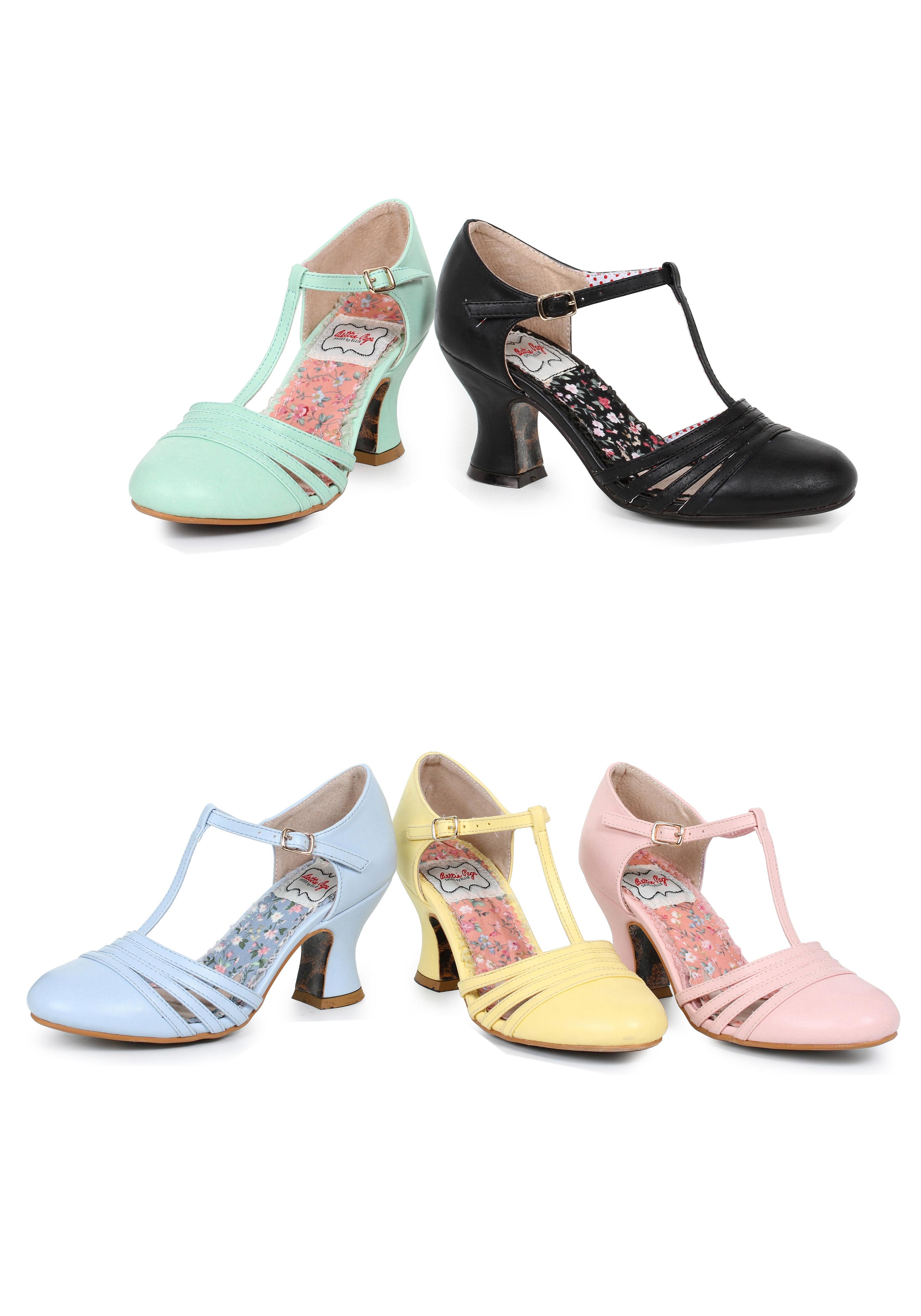 Ellie Schuhes BP254-LUCY T 2.5 Inch T BP254-LUCY Strap Heel 1042da