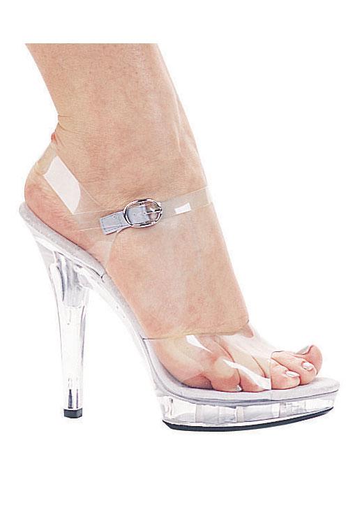 Ellie Shoes M-BROOK 5 Inch Heel Clear Sandal Women's Size Shoe   eBay