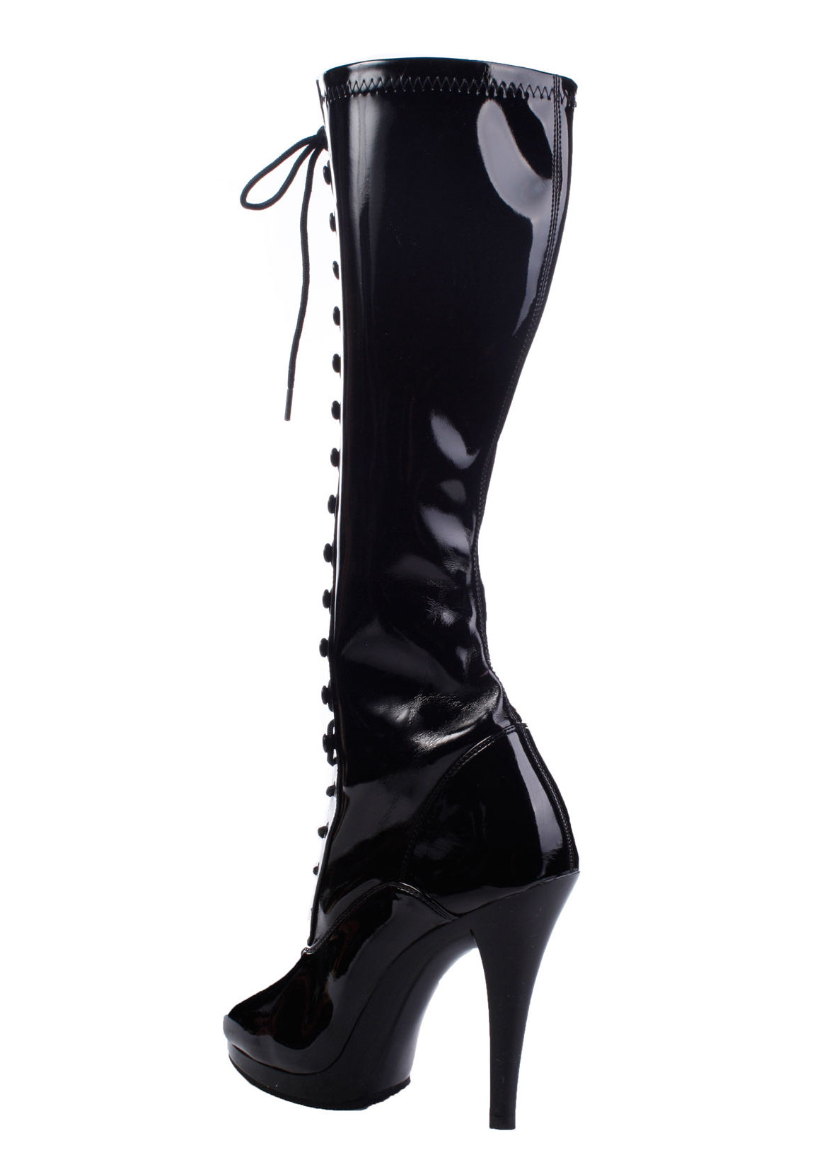 fabulicious flair 2023 4 1 2 inch stiletto heel lace up