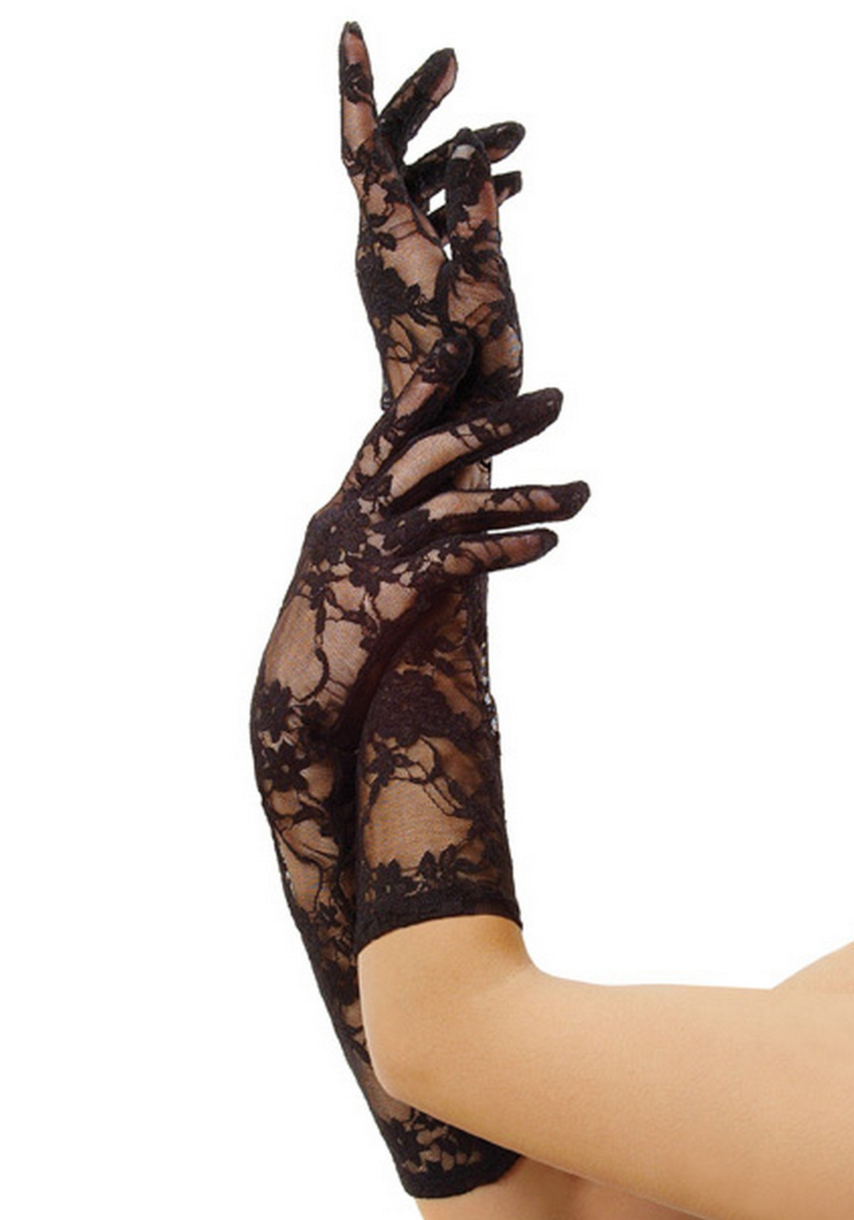 Leather driving gloves on ebay - Leg Avenue G1850 Elbow Length Stretch Lace Gloves
