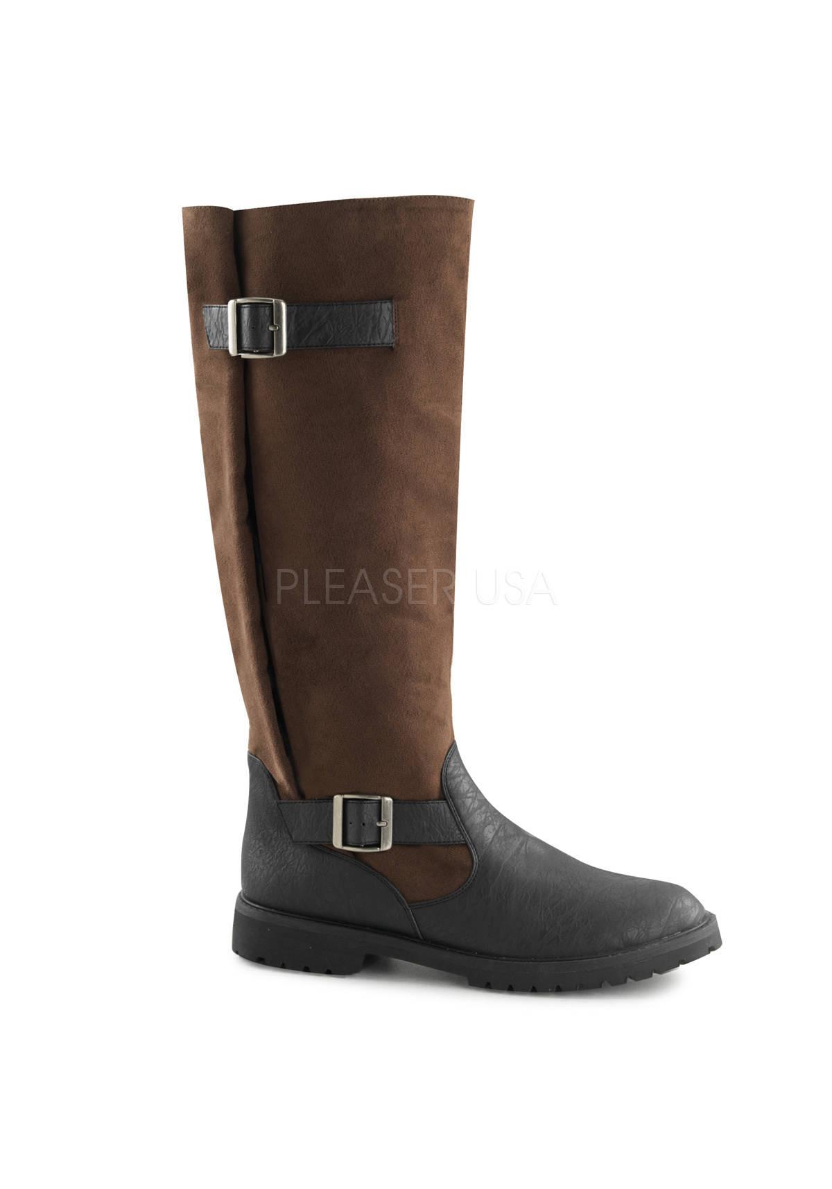 funtasma 1 1 2 inch heel s pull on knee high boot with