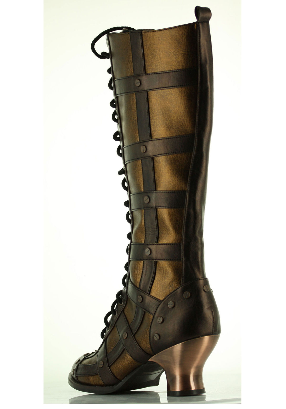 2019 year style- High thigh steampunk boots