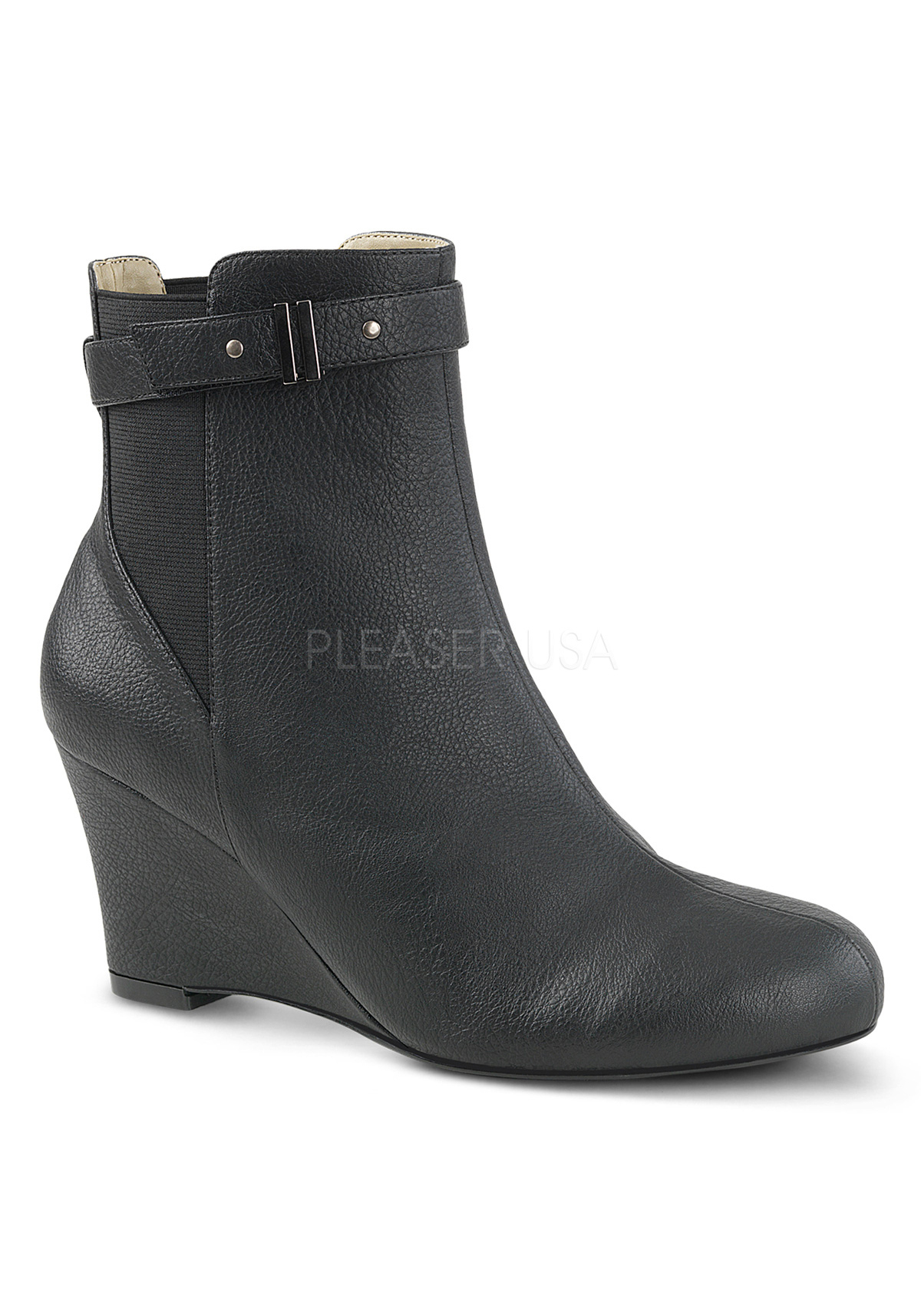 Pleaser KIMBERLY-102 3 Inch Heel Ankle Boot