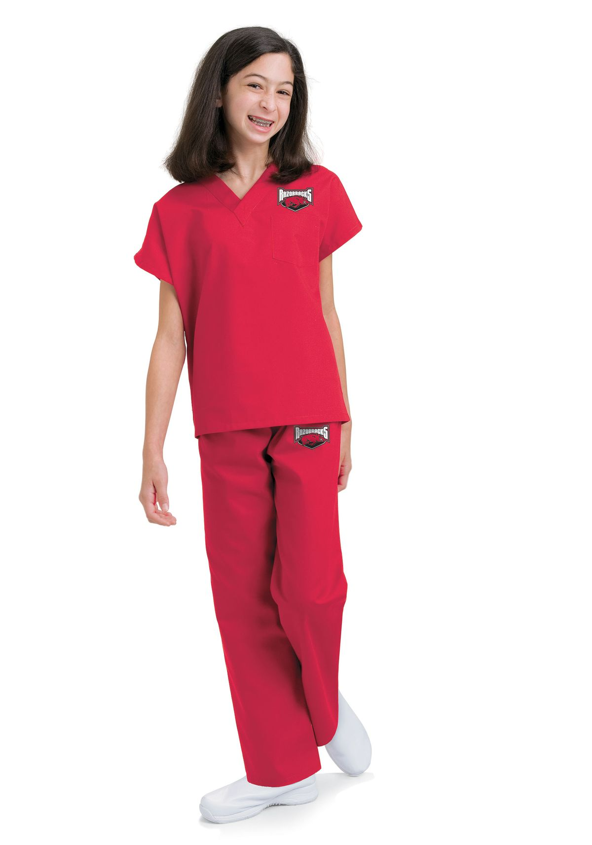 Landau 7000 Unisex S Child S Scrub Set Ebay