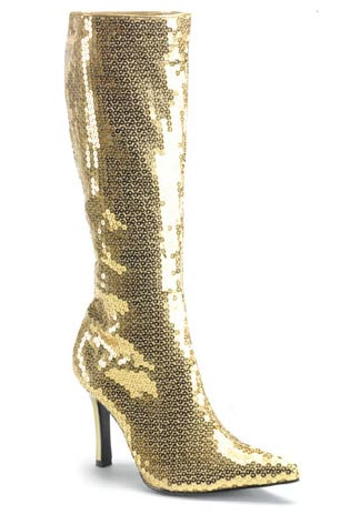 Funtasma LUST-2001SQ Sequined Knee-High Inch Boot With 3 1/4 Inch Knee-High Heel 7ed36a
