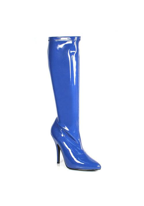 Pleaser SEDUCE 2000 2000 SEDUCE 5 Inch Plain Stretch Knee Boot, Side Zipper     99acae