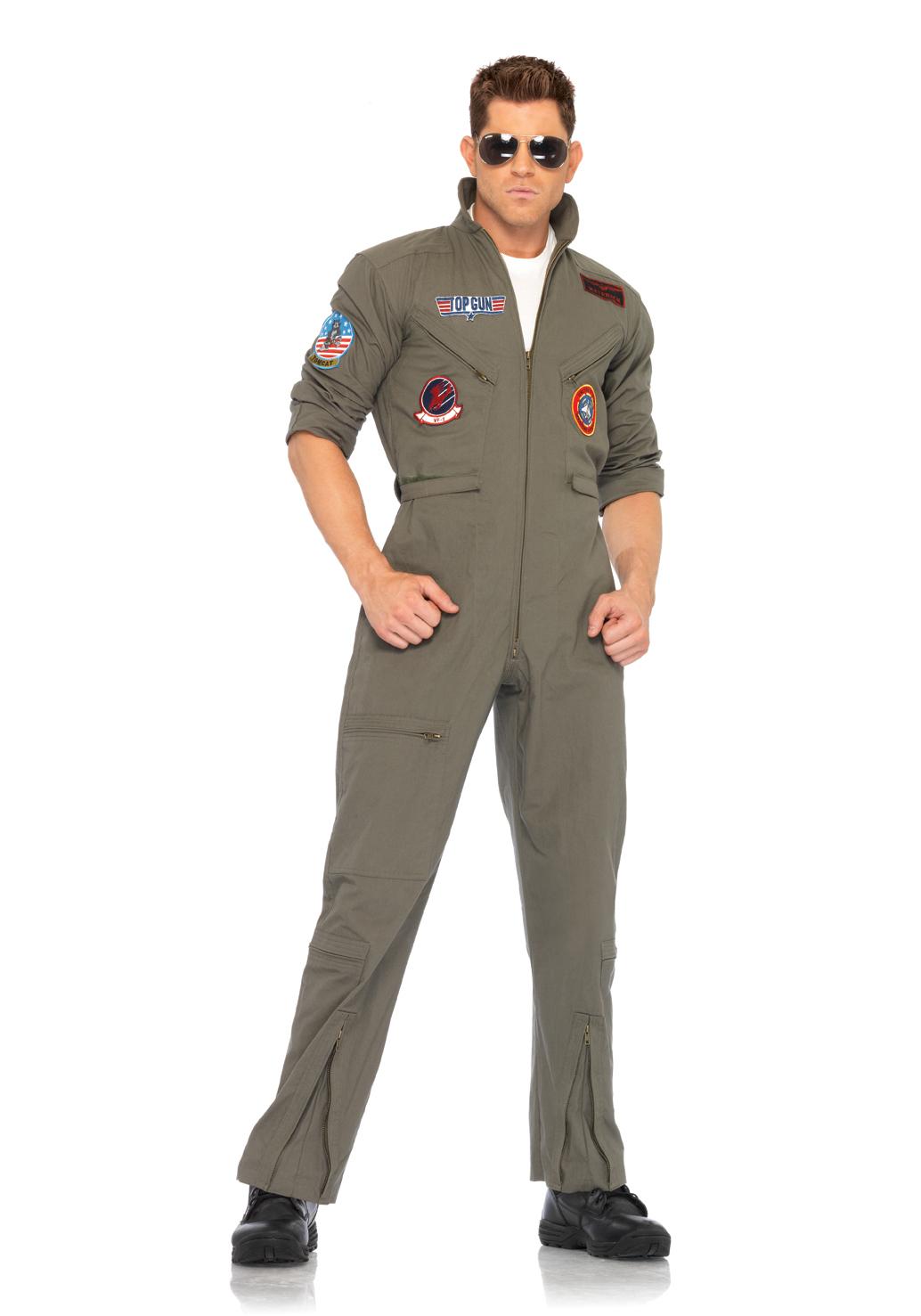 Leg Avenue TG83702 Top Gun Men's Flight Suit | eBay